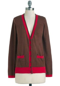 Baking Experiment Cardigan in Cacao, #ModCloth