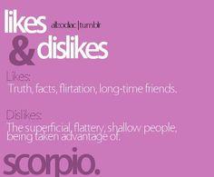 likes & dislikes