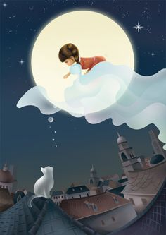 Nature, cartoons, moon pix - anything having to do with the moon..