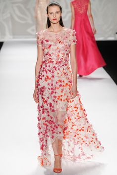 New York Fashion Week Spring 2014 RTW: Monique Lhuillier | I Should Have Been A Blogger