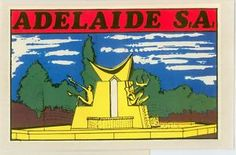 vintage australia Adelaide Sa, Adelaide South Australia, Australian Vintage, Vintage Posters, 1960s, Cool Pictures, Decals, History, Style
