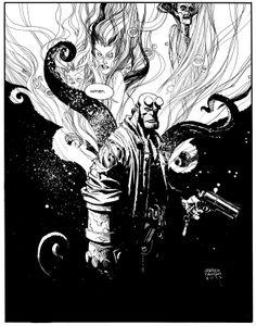 Hellboy by Andrew Robinson