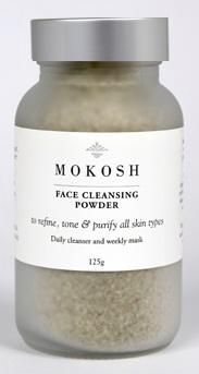 Organic, Fair Trade & ALL Natural Face Cleansing Powder by Mokosh (made in Western Australia)
