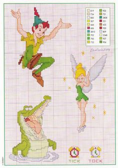 Lost Boys Counted Cross Stitch Kit Film characters