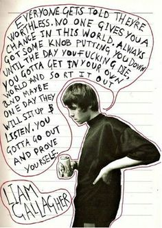 Liam Gallagher actually does say some pretty good stuff Oasis Lyrics, Oasis Music, Music X, Music Stuff, Music Lyrics Art, Oasis Quotes, Liam And Noel, Oasis Band, Nostalgia
