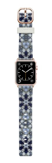 Casetify Apple Watch Band (38mm) Bracelet Casetify - saphirs and strass by akaclem #Casetify