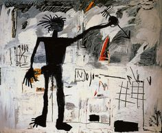 "Image result for Jean-Michel Basquiat's ""Warrior"""