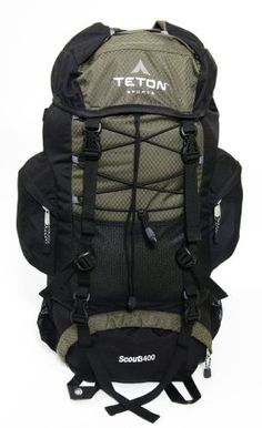TETON Sports Scout 3400 Internal Frame Backpack (Hunter Green) by Teton Sports, http://www.amazon.com/gp/product/B000F34ZKS/ref=cm_sw_r_pi_alp_LvU1pb1FRE9MZ (I already have a bigger pack, so maybe just one like this...Lol).