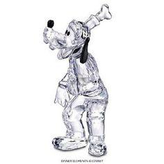 Swarovski Crystal Figurines   Swarovski Crystal Figurine #690716, Disney Goofy, Retired