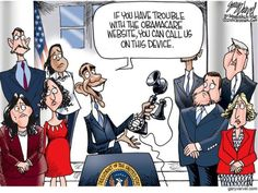 View the latest political cartoons by Gary Varvel, with satire humor, jokes, and pictures for the latest in politics, news and culture. Political Quotes, Political Cartoons, Website Down, Busy Signal, Conservative Politics, Cool Cartoons, Journalism, Current Events, Obama
