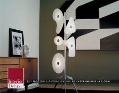 Orbital Floor Lamp - Foscarini  Shop Online http://www.interior-deluxe.com/orbital-floor-lamp-p476.html  #ModernLighting #InteriorDesign #Foscarini