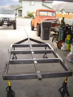 Our trailers are constructed to the greatest standards. The first thing one usually does is back up to the trailer and set the coupler back on the ball. Trailer Off Road, Bug Out Trailer, Trailer Park, Trailer Build, Camping Trailer Diy, Kayak Trailer, Atv Trailers, Adventure Trailers, Dump Trailers