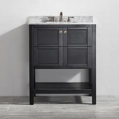 "Found it at Wayfair - Florence 30"" Single Vanity Set -- but the gray one, not this color"