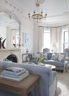 Home interior Design Videos Living Room Hanging Plants Link – Right here are the best pins around Coastal Home interior! Living Room Designs, Living Room Decor, Blue Living Room Furniture, Modern Furniture, Coastal Living Rooms, Antique Furniture, Bedroom Decor, Dining Room, Blue And White Living Room