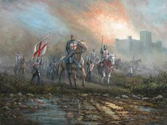 "The Knights Templar"" by Robert Ixer | Art Chat"