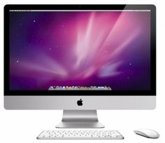 The 27-inch iMac features a brilliant LED-backlit, edge-to-edge glass display (see larger image).