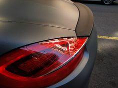 """PR Concept Car Wrapping by Pronto Rotulo since 1993 En este video tienes un ejemplo de """"wrap"""" con una Porsche Boxster con color original Negro Brillante que lo hemos llevado (desarmando pieza x pieza) a un color Gris Mate Metalizado alta gama 10 años. + info en prontorotulo.com + info en facebook.com/prontorotulo + info en twitter.com/prontorotulo"""