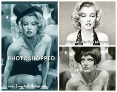 Not Marilyn Monroe Most Famous Quotes, Fake Photo, Nicole Kidman, Look Alike, Classy Women, Marilyn Monroe, Picture Quotes, Female Bodies, Photoshop