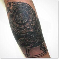 antique-style-steampunk-pocket-watch-tattoo