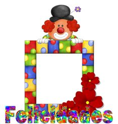 "Photo from album ""День рождения"" on Yandex. Happy Birthday Theme, Circus Birthday, Circus Theme, Circus Party, Clown Crafts, Carnival Crafts, Fish Crafts, Clown Party, Easy Paper Crafts"