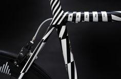 CMF we like / Bicycle / Stripes / Zebra / Black and White / Mauri / at inspiration