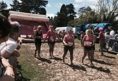 Race For Life 2015 Muddy ladies #running @fitchrysalis
