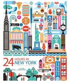 24 hours in New York. Might be good for my next long layover there