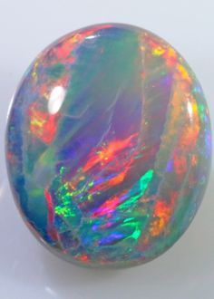 Dark Opal (Semi Black) 12 x 10 x 3mm 2.9 carats Auction #598757 Opal Auctions