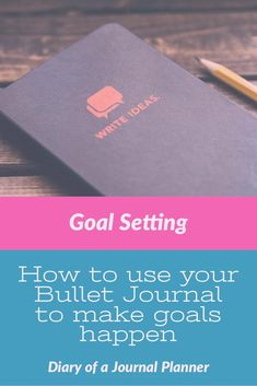 Learn how to set bullet journal goals, make a goals page layout and change your . Learn how to set bullet journal goals, make a goals page layout an.