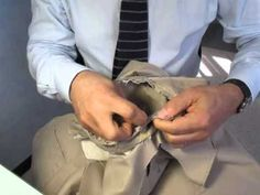 Adriano Bari Couture (Bespoke Tailoring since 1928) hand sewn sleeve on jacket