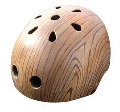 Its really expensive but I really want a woodgrain bike helmet... one day... (Oak Woodgrain by Belle Helmets)