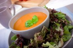 La Madeleine's Tomato Basil Soup