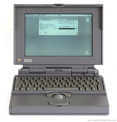 Apple Macintosh PowerBook 145B.