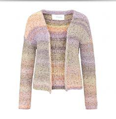 Alchemist cardigan ls Melange Wax Multicolour Fair Wear Fashion