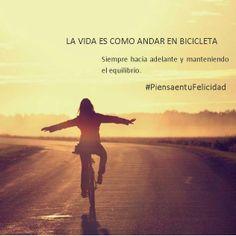 #felicidad #salud #ejercicio #bici