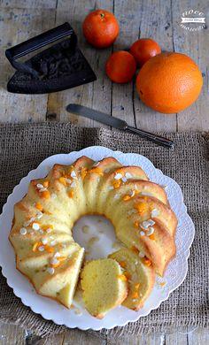Ciambella alle arance senza burro