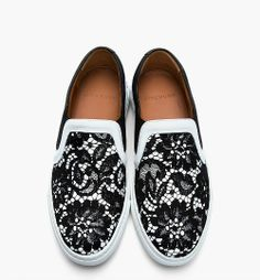 Love these Givenchy Slip On shoes with lace
