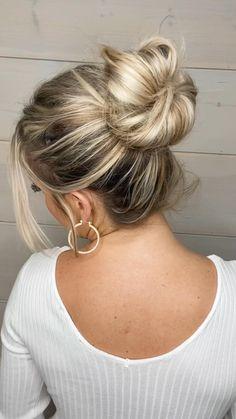 Bun Hairstyles For Long Hair, Work Hairstyles, Bride Hairstyles, Black Girls Hairstyles, Athletic Hairstyles, Humidity Hairstyles, Shoulder Length Hairstyles, Formal Hairstyles, Hairdos