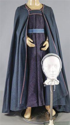 THE WHITE PRINCESS PRINCESS BRIDGET SCREEN WORN CLOAK DRESS GOWN & HAT EP 101103 | eBay