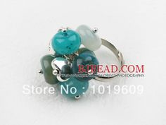 Aliexpress.com : Buy Free shipping woman jewelry fashion deisgn assorted blue jade pretty ring from Reliable Rings suppliers on Bjbead Jewel...