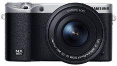 Samsung Electronics NX500 28 MP Wireless Smart Mirrorless Digital Camera with Included Kit Lens (Black) #NX500 #Samsung