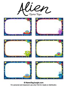 Name Tag Template Free Printable New Pin by Muse Printables On Name Tags at Nametagjungle Name Tag Templates, Templates Printable Free, Free Printables, Printable Name Tags, Printable Labels, Book Labels, Name Labels, Bid Day, Space Names