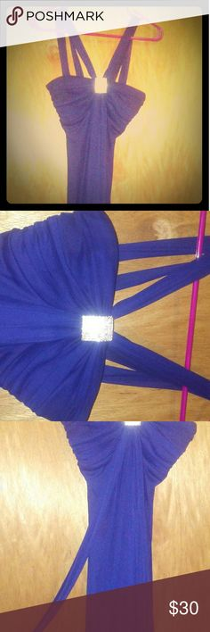 Dress Fashion dress in a stunning purple. Great for Prom, Weddings, or a fancy night on the town! Beats Studio Los Angeles  Dresses Prom