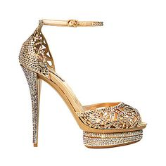 Intricate design high heels