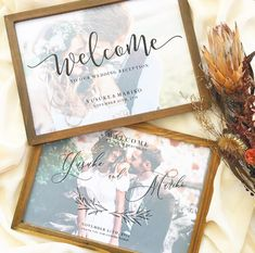 Welcome Boards, Welcome To Our Wedding, Wedding Reception, Marriage, My Favorite Things, Frame, Instagram, Vinyls, Board