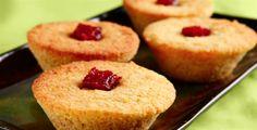 Muffin de milho sem glúten