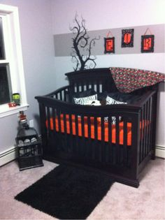 Red and black nursery
