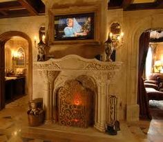 How do you make a reservation at Disney's Cinderella Castle Suite in the Magic Kingdom? How can you get to stay inside Disney's Cinderella Castle Suite? The Cinderella Castle Suite is t… Disney Cinderella Castle, Cinderella Suite, Cinderella Bedroom, Fireplace Dimensions, Castle Rooms, Castle Bedroom, Limestone Fireplace, Fireplace Pictures, Fireplace Redo