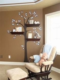 Home Decor Ideas: Cute idea for a nursery