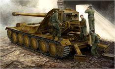 12.8cm Pak 44 Waffentrager Krupp 1. Vincent Wai